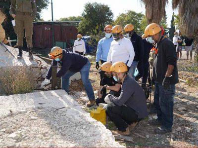 מגדל העמק: מוכנים לחירום – מתנדבים ועובדי העירייה סיימו מחלץ שני
