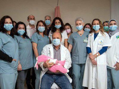 לידה של תקווה: צעירה מעפולה ילדה את בתה הבכורה לאחר טיפולי הפריה מפרכים