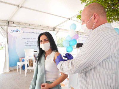 מכבי: החל מבצע חיסוני הקורונה בעמק