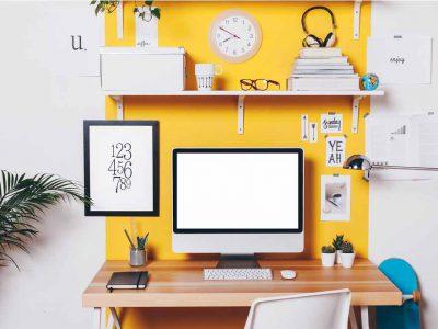 מתיחת עיצוב פנים: עיצוב המשרד הביתי ב-2021