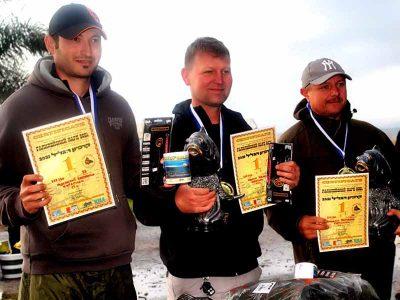 """תחרות הדיג הארצית """"ישראפיש"""": במקום הראשון קבוצת Karasiki"""