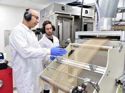 יקנעם: חברת NanoSono משיקה מסכה אנטי בקטריאלית שמגנה מפני 12 מיליון חיידקים אלימים
