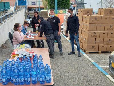 עפולה: מאות חבילות מזון לזכאים חולקו לקראת הפסח
