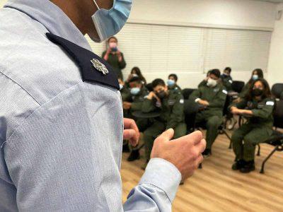 עפולה: תלמידים נפגשו עם טייסי חיל האוויר ולמדו להטיס F16 בסימולטור