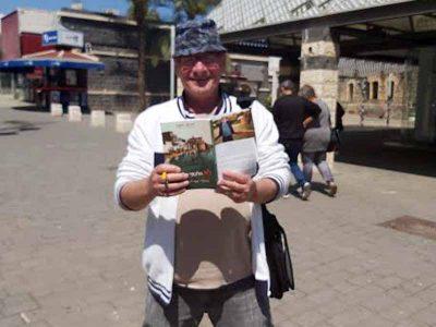 מאהבה הגדול של העיר טבריה הוציא מהדורה רביעית לספרו