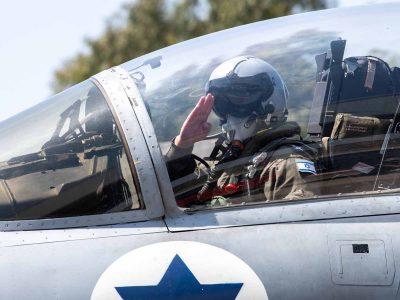 הרגיש בבית: מפקד חיל האוויר הטיס F-15 במטס מעל עמק בית שאן