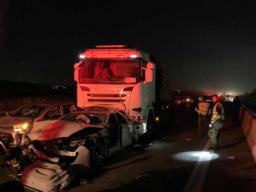שני הרוגים בתאונה קטלנית בכביש 77