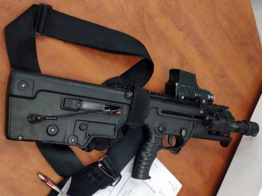ירי בשטח פתוח הוביל למעצר של אדם חמוש בנשק מסוג תבור