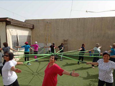 """""""נעים בשלישי"""": פעילויות ספורט לאזרחים ותיקים במרחבים הציבוריים ביישובי עמק יזרעאל"""