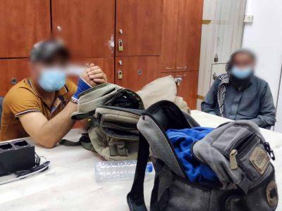 מטריד: תושבי ירדן נעצרו באזור הגלבוע עם סכינים