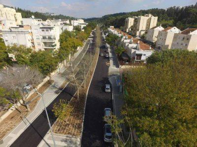 מגדל העמק: נחנך רחוב נחל צבי המשודרג