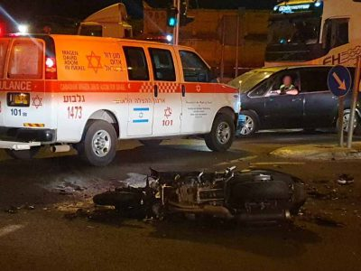 בן 18 נהרג בתאונת דרכים קטלנית סמוך לאזה״ת אלון תבור