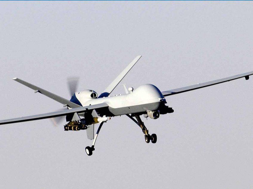 """תקרית חריגה בעמק המעיינות: מטוס ללא טייס הופל באזור המוא""""ז"""