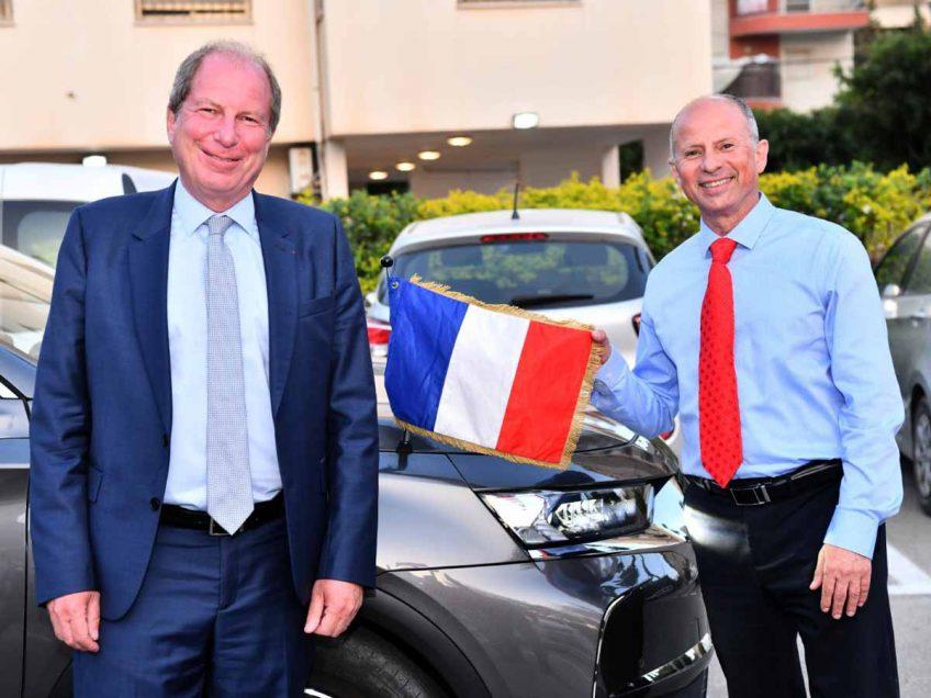 בונז'ור: שגריר צרפת בישראל אריק דנון קיים ביקור בעפולה