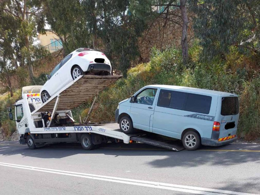 32 דוחות נרשמו לבעלי רכבים מזהמים באזור