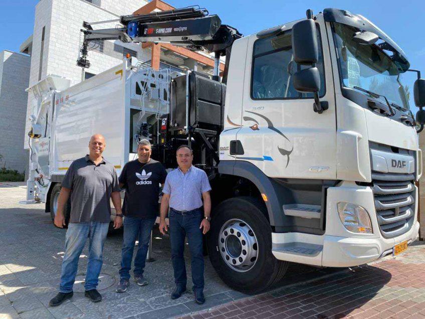 מגדל העמק: 13 מיליון לפרויקט פחים מוטמנים והחלפת צי הרכב