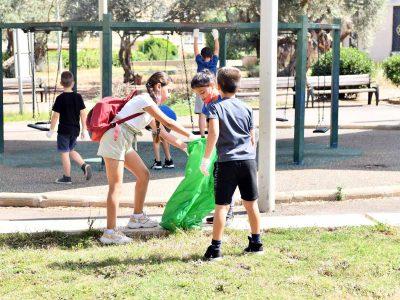 מגדל העמק: בית ספר עליזה בגין נקי ומקיים