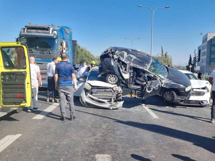 דיווח ראשוני: תאונה בצומת הקאנטרי בעפולה