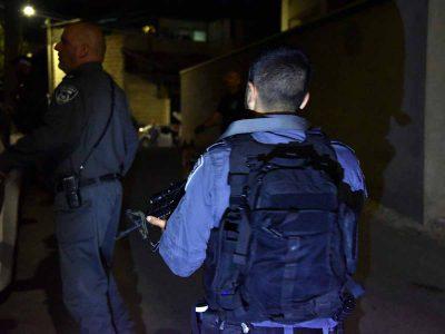 17 חשודים בהתפרעויות האלימות נעצרו על ידי המשטרה