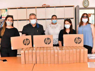 מגדל העמק: 1,300 מחשבים חולקו לילדי העיר