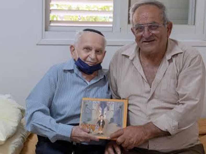 מפגש אנושי: אהרון וייס בן ה-91 מעפולה לפואד ריזאק בן ה-83 מהכפר ריינה