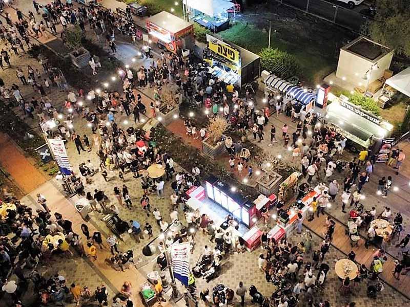 פסטיבל הבירה מלמעלה