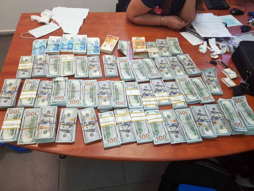 """המאבק בפשיעה במגזר: נתפסו אמל""""ח וסכומי כסף גבוהים במיוחד בכפר שיבלי"""