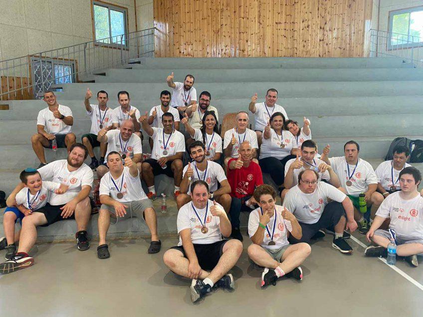 מפגש מרגש! בין קבוצת הכדורסל לבוגרים עם צרכים מיוחדים עם החברה המאמצת