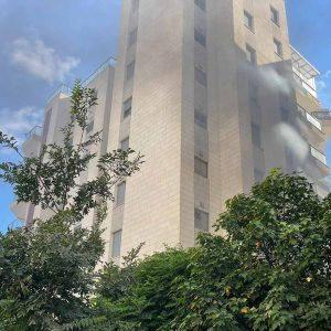 שריפה בבניין בעפולה