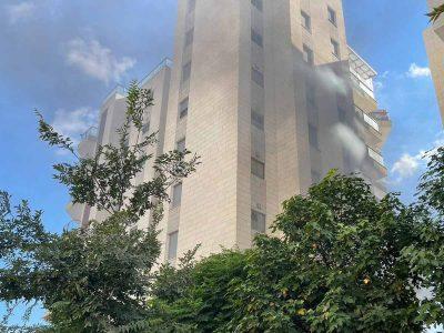 עפולה: שריפה בדירה ברובע יזרעאל