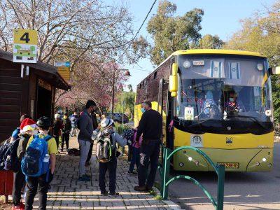 """בעמק יזרעאל: """"גלגלי האוטובוס מסתובבים"""" היישר לתחנה הממוספרת"""