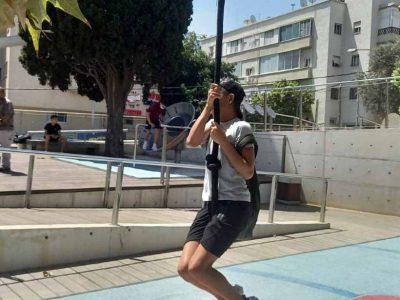 לפני החופש: תלמידי ויצו ניר העמק בביקור במדעטק בחיפה