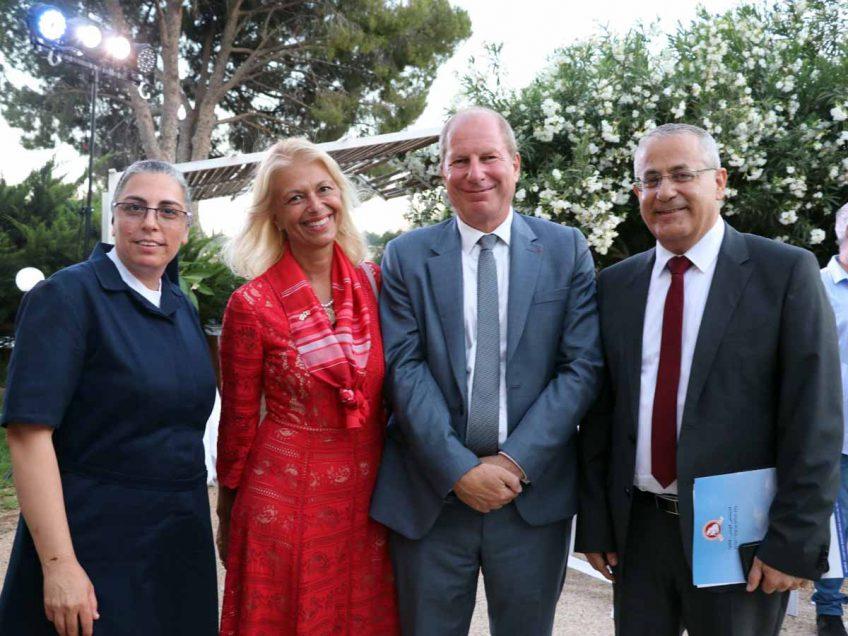 ויוה לה פראנס: השגריר הצרפתי חגג את יום הבסטיליה בנצרת