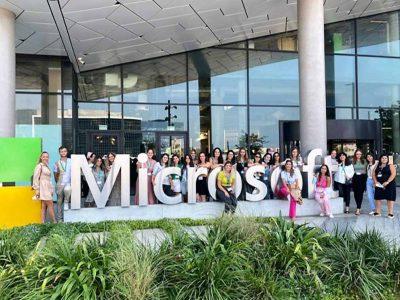 עפולה: שלוש מורות התקבלו לקהילת המחנכים של חברת 'מיקרוסופט'