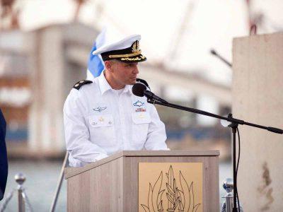 """״אני מתחייב לשאת באחריות ולהגן על הגבול הימי"""""""