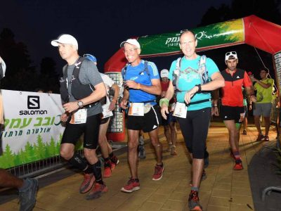 """166 ק""""מ: הסתיים מרוץ האולטרה מרתון הגדול בישראל"""